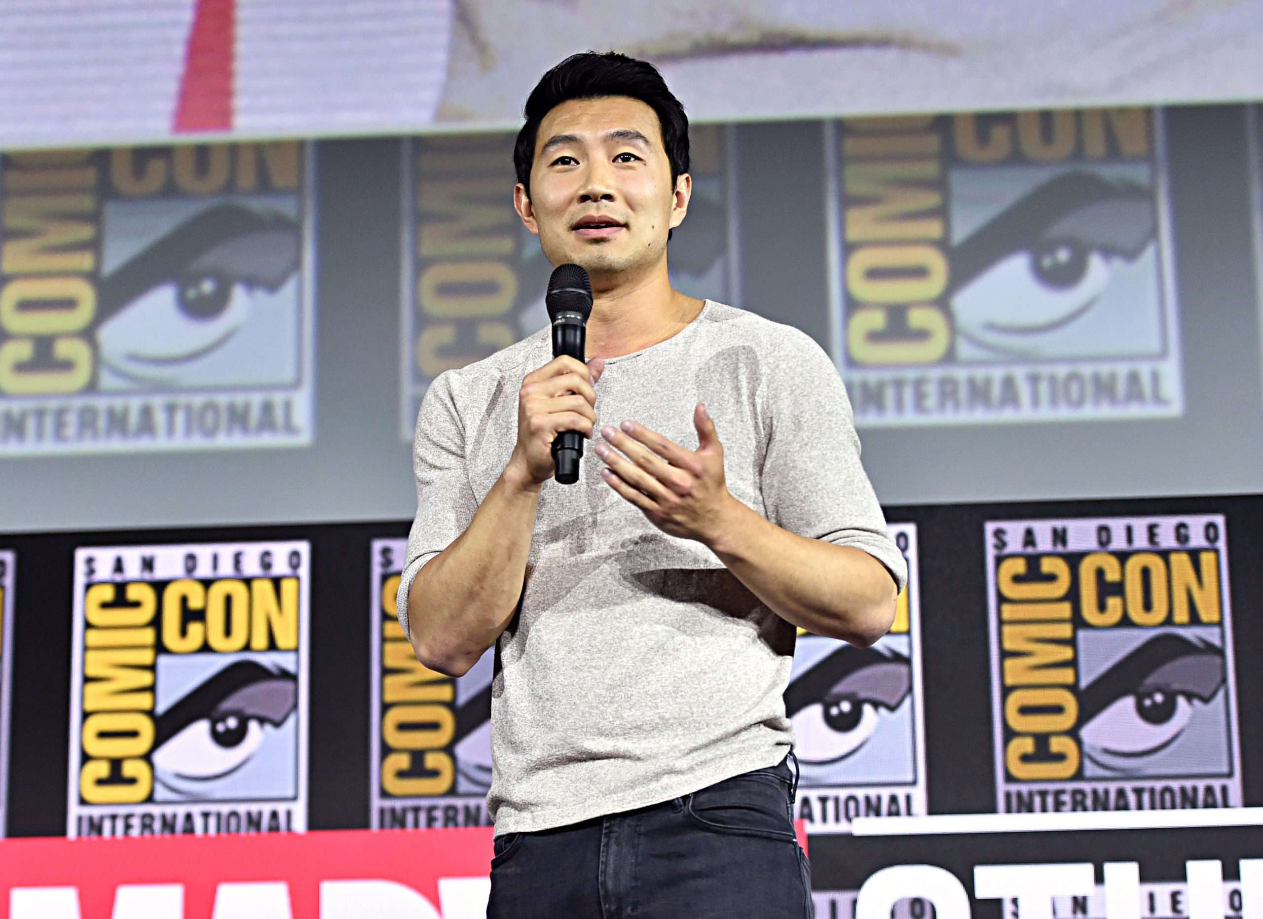 Shang-Chi and the Legend of the Ten Rings: Simu Liu at the San-Diego Comic-Con
